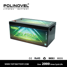 lithium ion battery 10kwh 12v 200ah lifepo4 car battery