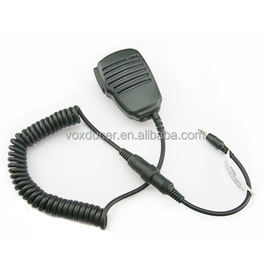 [M-SM3-CB] Heavy Duty Speaker Microphone with 3.5mm Audio Jack for Cobra Two Way Radios