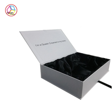 Fancy clamshell book style gift box