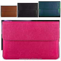 "woman leather Laptop sleeve case for 13.3 inch 13"" Macbook Air & Pro"