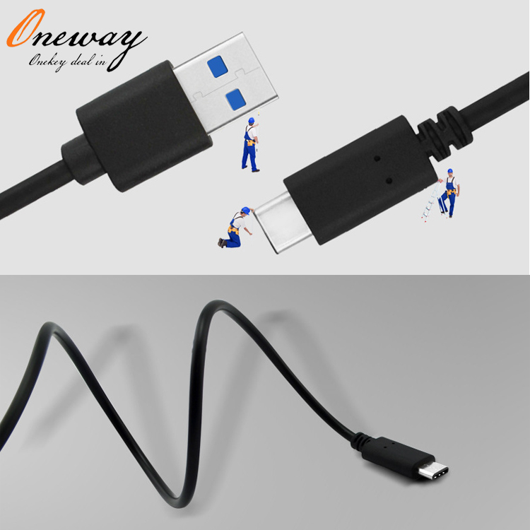 charging and data transfer USB 3.1 type c cable for LG for samsung s8 type cable in high speed