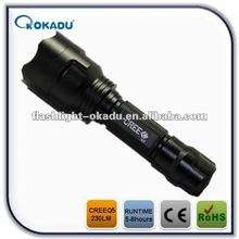 CREE Q5 LED 230LM car mount flashlight