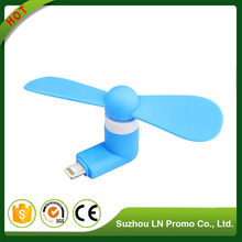 Best Selling Printing Logo Mini Fan Hand Cartoon