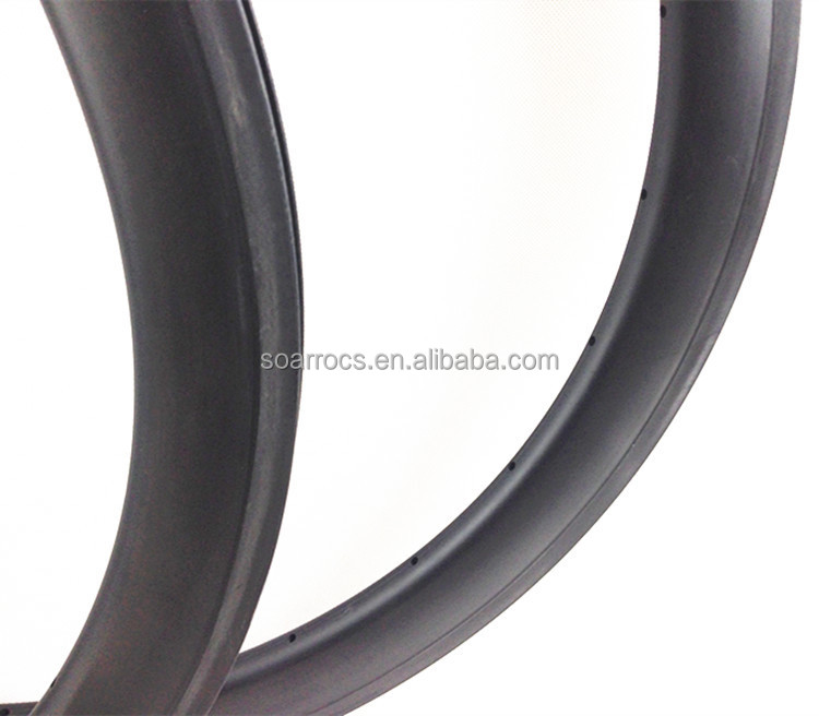 NEW shape 27mm width carbon wheels china 50mm U shape aero carbon Rim tubeless clincher rims