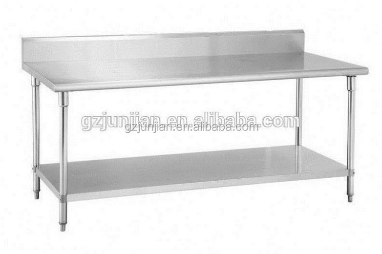 Restaurant Kitchen Work Tables engaging design stainless steel kitchen table with rectangle shape