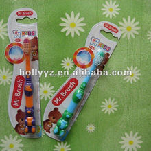 China newest colored baby toothbrush design
