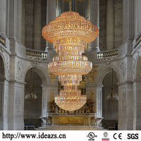 C99758 camino round chandelier,arabic style brass chandelier light,string crystal chandelier