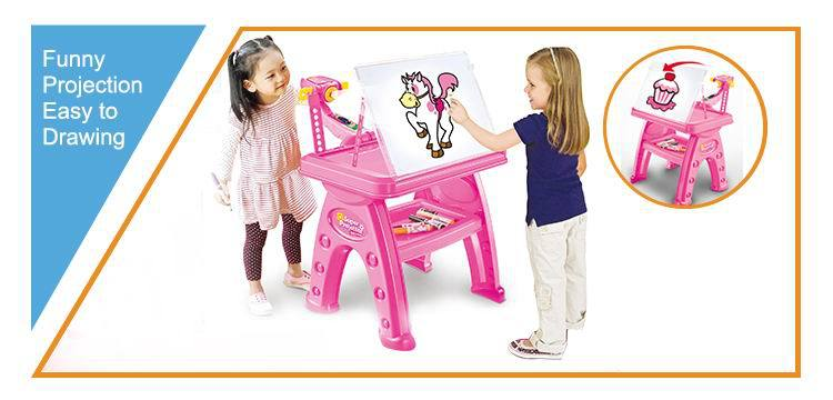 Wholesale UK happy projector drawing table kid educational toy