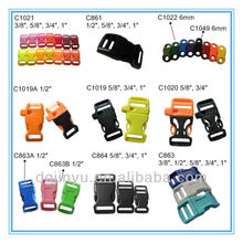 plastic buckle closure for dog collar
