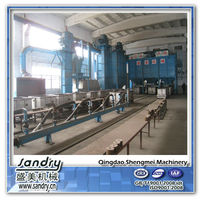 Lost foam casting equipment and sand process equipment design produce