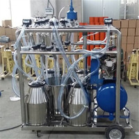Diesel Engine Cow Milking Machine Price With Electric Motor