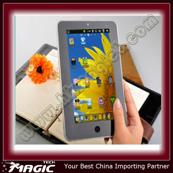 4G Android 2.2 touch screen 7 inch tablet pc sale