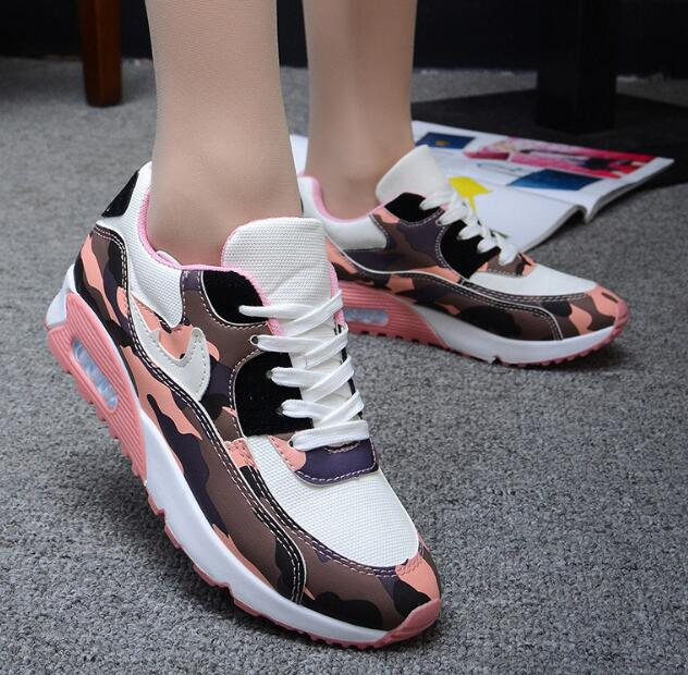 zm32692a cheap trendy camouflage running shoes women casual air sport shoes