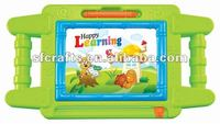 2013 new style multifunctional plastic write board toys,drawing board,tablet with light