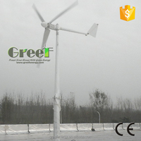 China wind turbine manufacturer 3 kw, small windmill generator home use