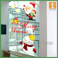 Christmas wall stickers mirror sticker