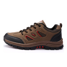 2016 New style outdoor shoes lace up brand design men hiking shoes breathable mesh shoes men sneakers