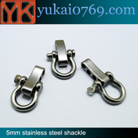 Wholesale Stainless Steel 5mm Adjustbale D