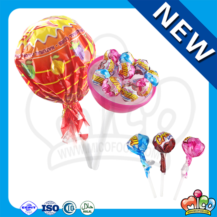 Giant lollipop sweet candy