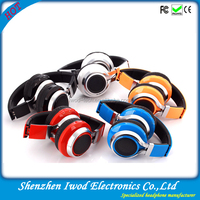 Foldable wireless headphone China factory headphone fm stereo radio mp3 palyer