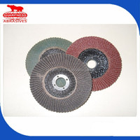 HD037 with sandpaper, abrasive flap wheel for wood