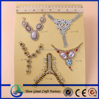 Fashion Crystal Rhinestones Glass Stones Woman