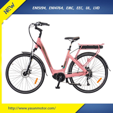 China Popular 8FUN 350W Electric City Coco Bike For Woman With Rear Seat