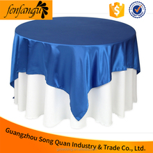 china hotel linen spun polyester table cloth , restaurant tablecloth for Wedding Decoration