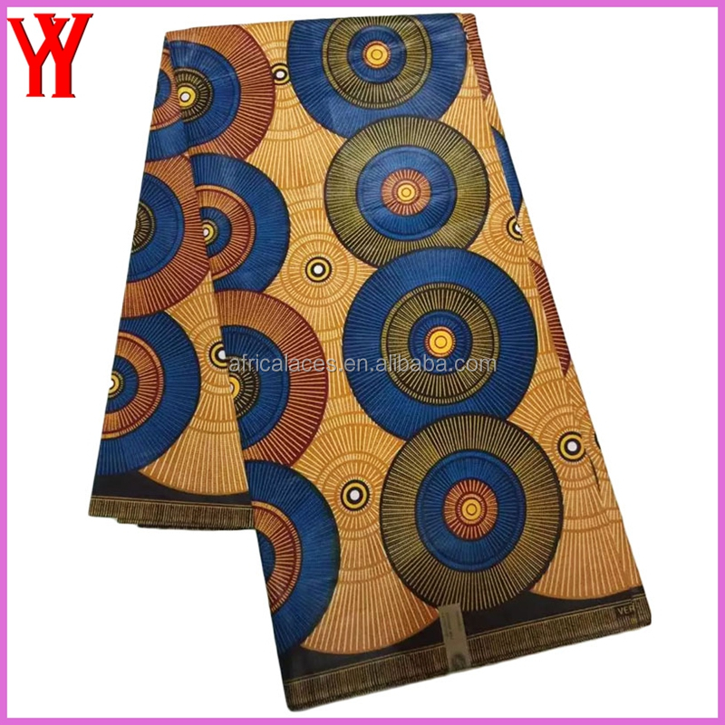 African Fabric Print Wholesale China Wax Prints fabric Real Wax Print 100% Cotton