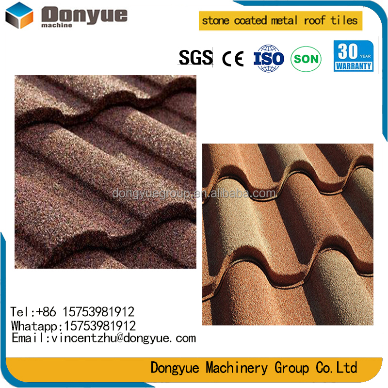Bond/Classic style/roman/shingle/milano/wood shake Stone coated steel roofing tiles