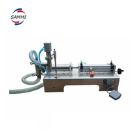 Horizontal Semi-Automatic Pneumatic Piston Liquid/Water/Juice Filler/Filling Machine