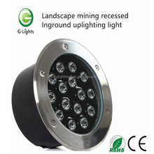 Global Top 15w LED IP65 underground light inground Uplight