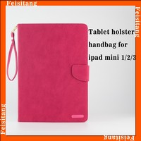 tablet holster For apple ipad mini 4 wallet leather flip holster case