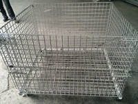 foldable Stainless wire cage