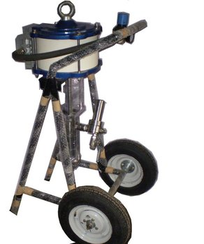 pneumatic airless paint sprayer (Raja)