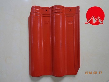 Bent Ceramic Roof Tile