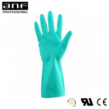 Waterproof chemical resistant nitrile examination glove safety protection labor glove