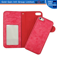 [GGIT] Newest Hot selling Quality Phone Case Wallet Case Book Style for Samsung S4 Leather Stand Case Wallet Style