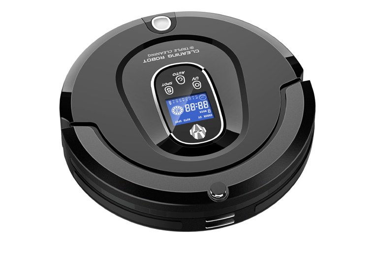 High Class Multifunctional Robot Vacuum Cleaner A336(Black)