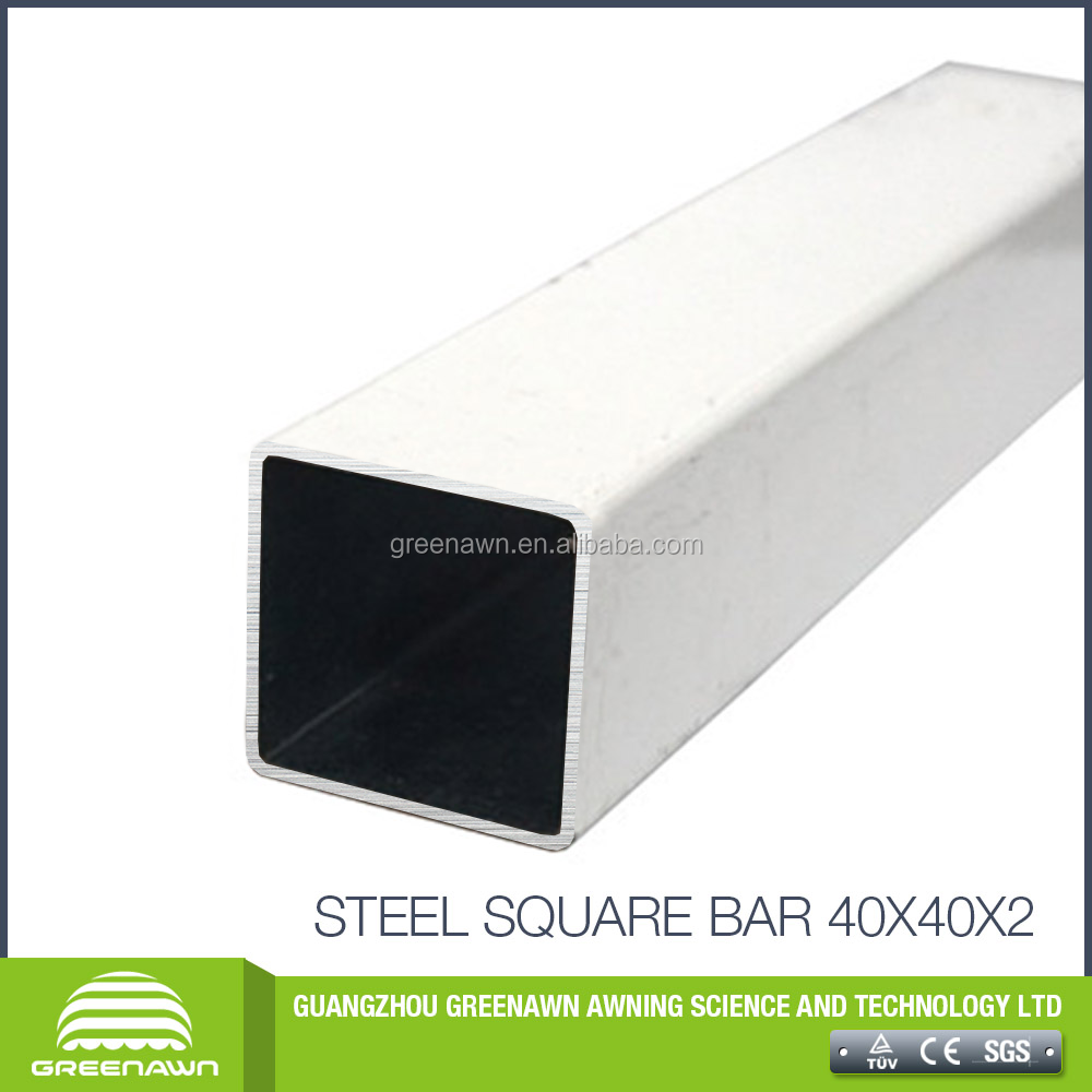folding awning parts 4m square bar galvanized square tube on sales