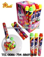 Plastic Tube Packing Sweet Candy Chocolate Beans