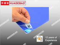 "peelable blue color sticky mat plastic film for hospital use clean step 18""x36"""