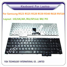 replacement samsung laptop keyboard for RV510 R525 R528 R530 R540