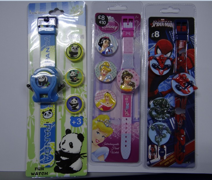oem promotion soft silicone children christmas led light watch for gift