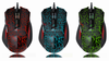 USB Optical gaming Mouse for Gamer Professional; 6 Buttons 2400 DPI Wired Mouse