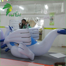 Latest Style Ride On Inflatable Sexy Dragon Toy , White Inflatable Dragon For Exihibition / Advertisement