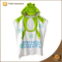Organic Bamboo Cotton Baby Hooded Towel for adults