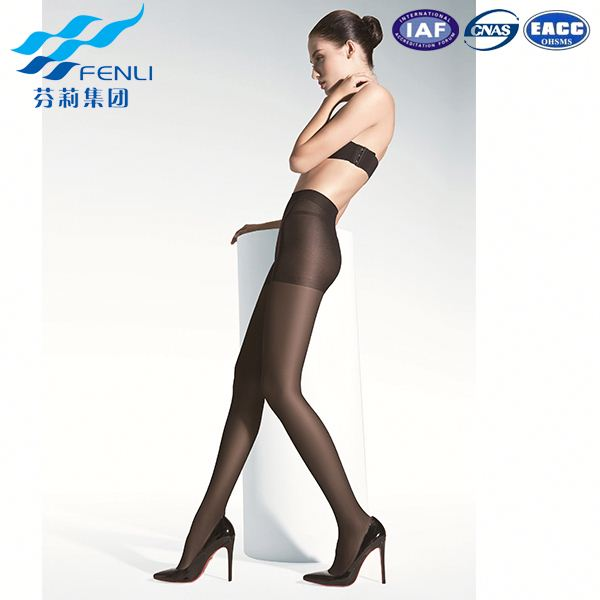 2016 new design customized top quality ladies panty hoses