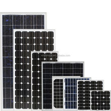 High efficiency 50w to 300w flexible solar panel with frame and MC4 connector