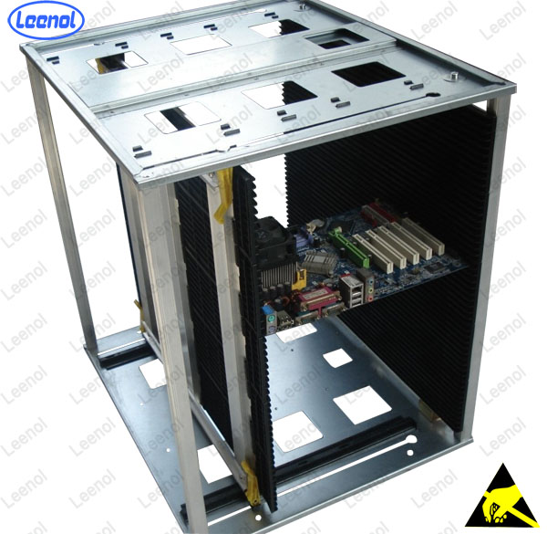 Screw adjustable Bigger ESD SMT PCB Magazine Rack (LN-D808)
